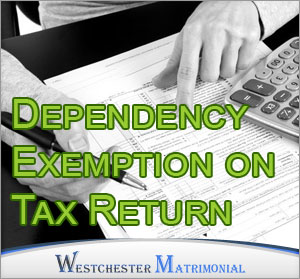 Dependency exemption on tax return